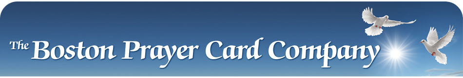 Boston prayer card company